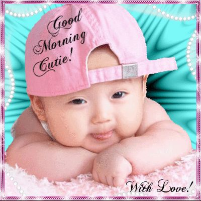 Good Morning Baby images – Baby morning pictures
