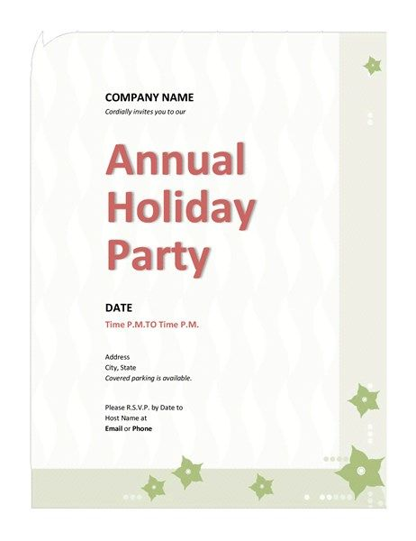 Company holiday party invitation Christmas invitations Pinterest