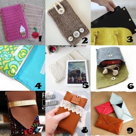 Link Love: DIY Tech Cases DIY Tech Do It Yourself upcycle recycle how to craft crafts instructable gadgets  fashion