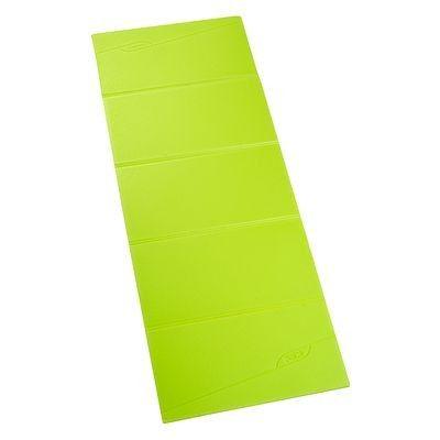 Tapis de sol Fitness, Yoga, danses - Tapis Fitness Mat Fold vert DOMYOS - Matériel musculation