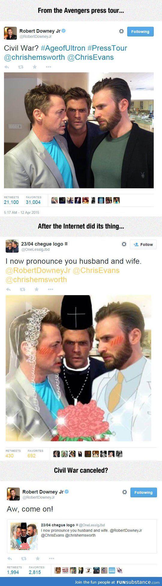 the interweb is amazing