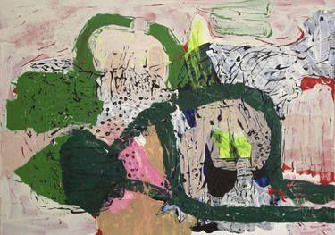 """Saatchi Art Artist Øyvind Suul; Painting, """"Mind map #30"""" #art"""