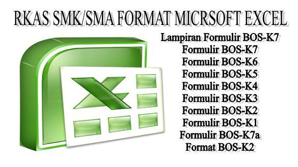 DOWNLOAD FORMAT RKAS SMK SMA MICROSOFT EXCEL  Download Format RKAS SMK/SMA Microsoft Excel sebagai format dalam membuat setiap Tahun RKAS pada awal Tahun Anggaran Baru yang harus dibuat dan dilaporkan setiap sekolah ke Dinas Pendidikan Kabupaten/Kota. Format RKAS yang dbagikan kali ini berupa Aplikasi Mirosoft Excel dan memiliki beberapa Fitur diantaranya :  Lampiran Formulir BOS-K7  Formulir BOS-K7  Formulir BOS-K6  Formulir BOS-K5  Formulir BOS-K4  Formulir BOS-K3  Formulir BOS-K2…
