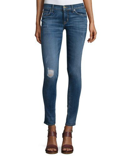 Hudson+Krista+Distressed+Skinny+Ankle+Jeans+Fierce+|+Pants,+Clothing+and+Workwear