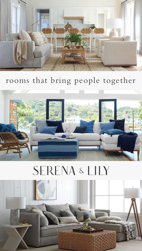 Shop Now Serena Lily Coastal Home Decor Inspiration Ideas