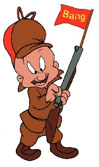 Elmer Fudd: Oh how I've missed you!