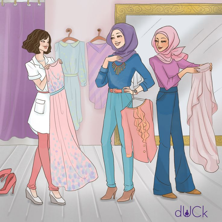dUCKscarves instagram illustration - Soefara