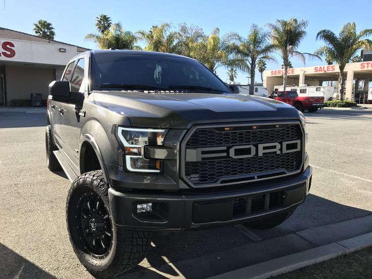 Raptor style grille, anzo headlights pictures/review. - Ford F150 Forum - Community of Ford Truck Fans