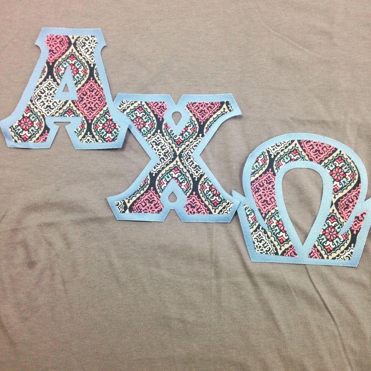 72 best letter inspiration images on pinterest sorority for Cute greek letter shirts