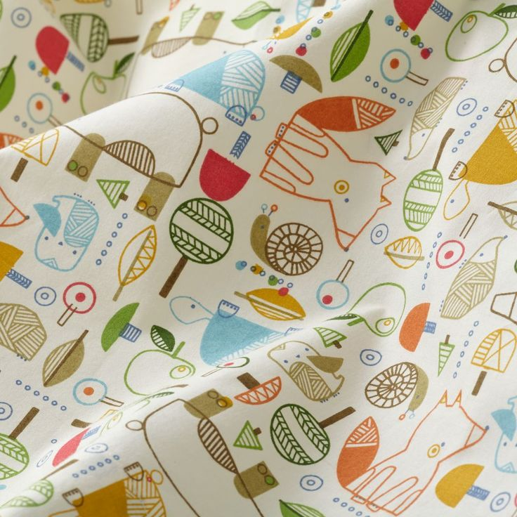 Nature Trail Crib Sheet | The Land of Nod