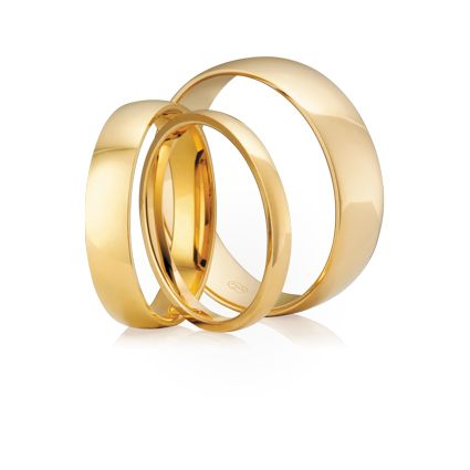 #Australianmade #Weddingrings Half Round - A #PeterWBeck Classic. Available in multiple widths and precious metals.