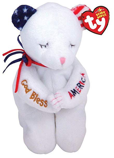 06109ff8dbe Details about RARE! TY Beanie Babies - American Blessing Bear ...