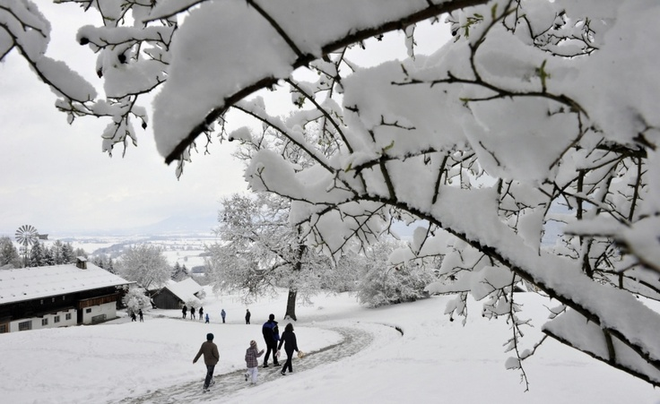 #Bavaria #Alps #Snow