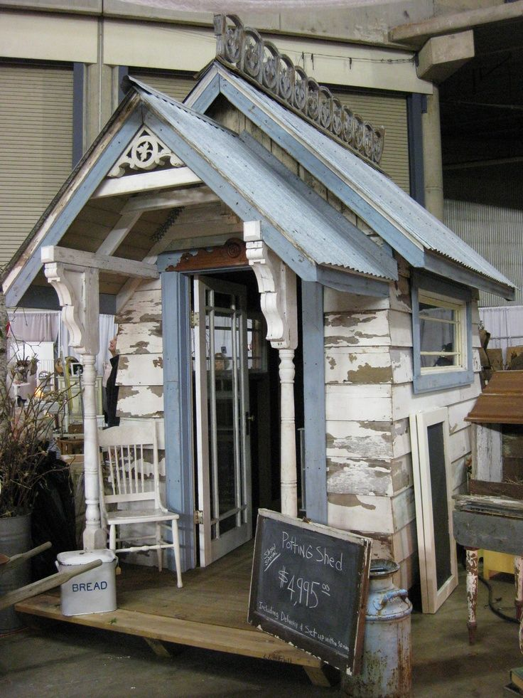 garden shed made from recycled materialsor play house for kids i know i always wanted one
