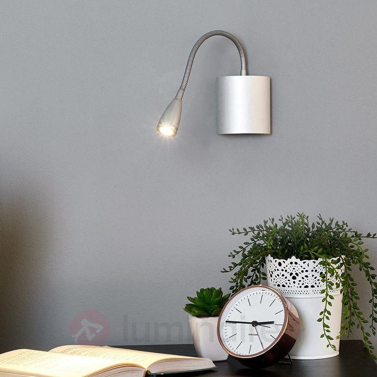 Liseuse murale flexible Anneli avec LED, référence 9976003Liseuses et lampes de lecture chez Luminaire.fr - Frais de port offerts à partir de 99€ d'achats