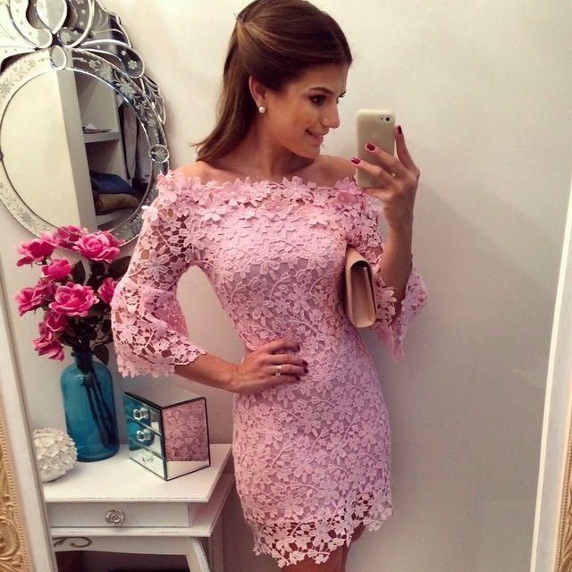 Sunday!  Muito amor nesse vestido @bambolarp | #lookdanoite #lookofthenight #ootd #selfie #blogtrendalert
