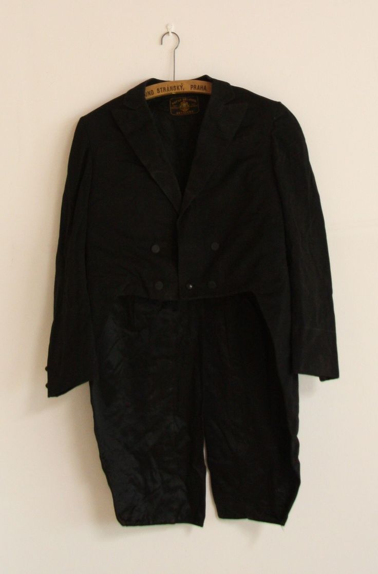 #original #vintage #tailcoat from #30s for #gentlemen #classic piece of #historyclothing by #salonmody