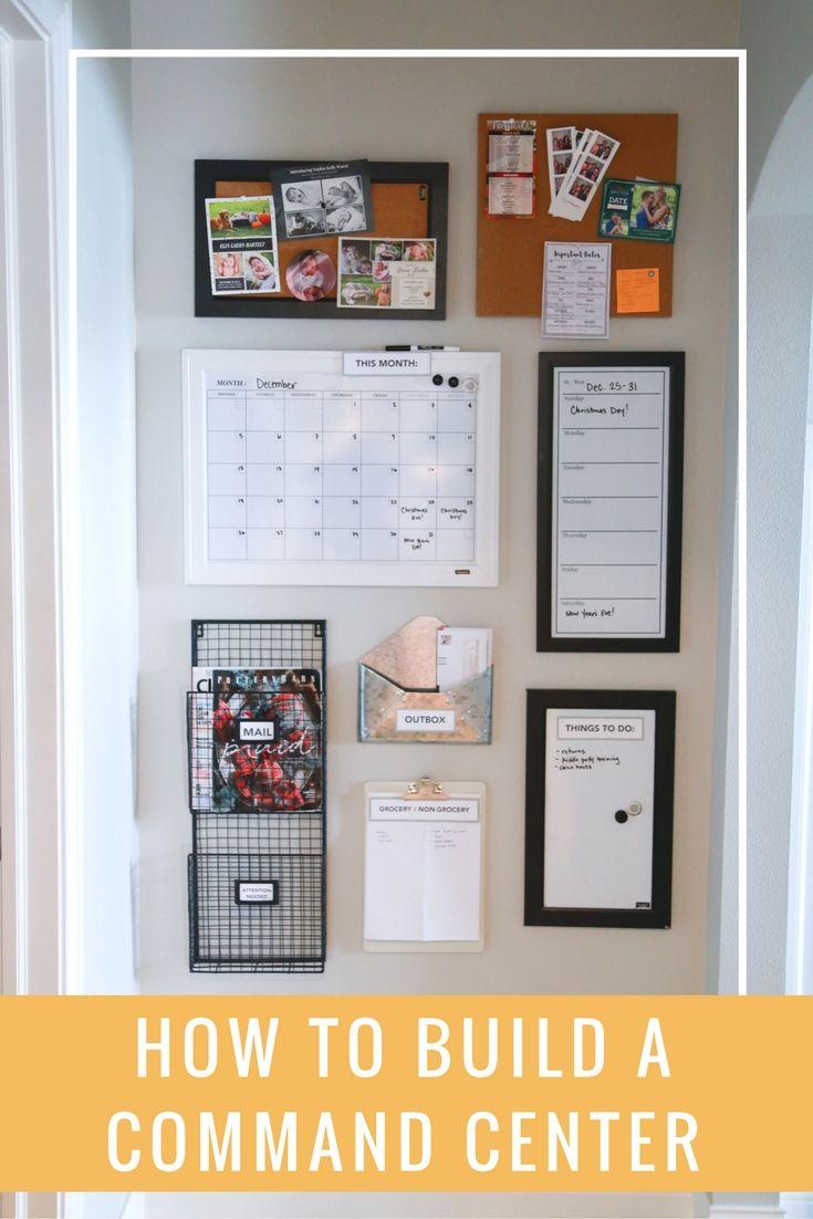 818 Best Family Command Center Images On Pinterest