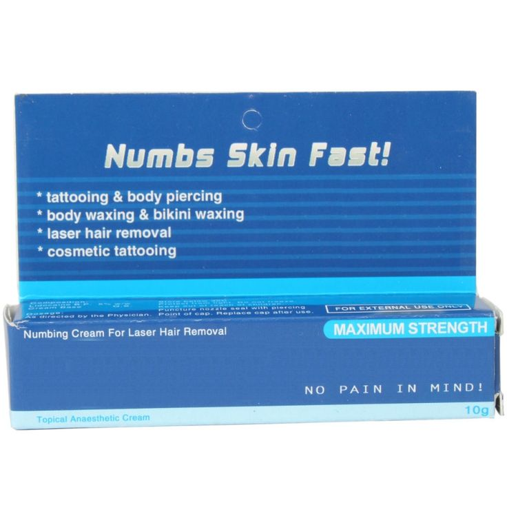 Tattoo Numbing Cream Numbing Ointment Blue