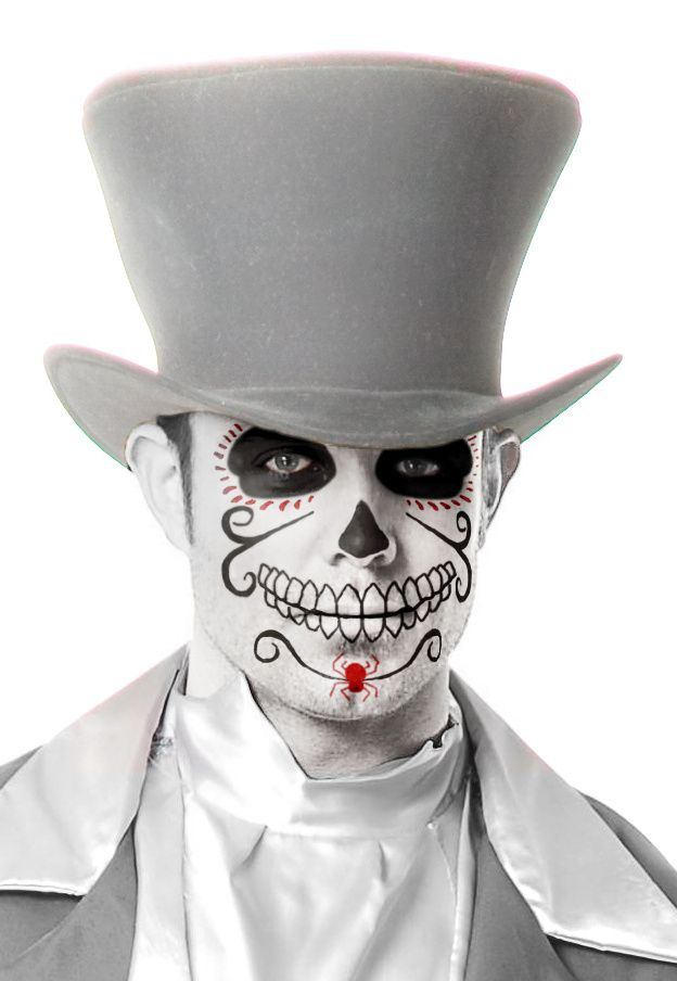 best halloween day of the dead make up images  day of the dead men halloween makeup