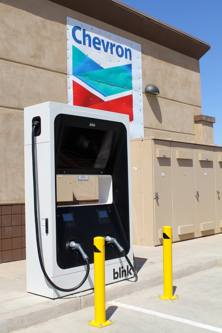Explore this interactive image: Chevron Discovery Market in Casa Grande Arizona by Blink Network #charge #fast #dcfc #charging #charger #station #nissan #leaf #arizona #goelectric #plugin