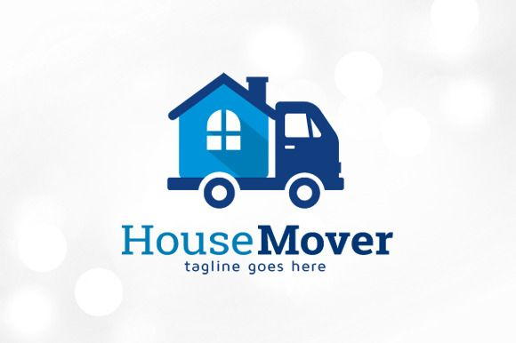 House Mover Logo Template by gunaonedesign on @creativemarket