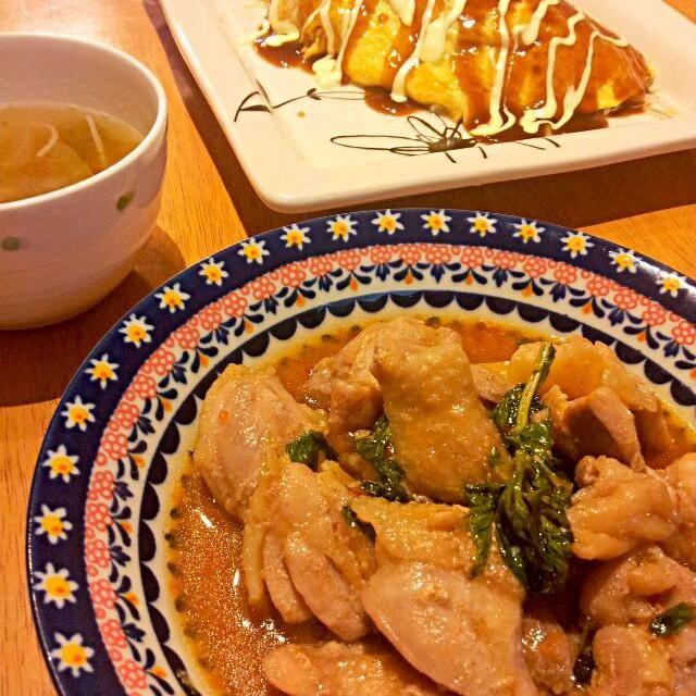 今日の晩御飯  鶏肉とバジルのスイチリ炒め もやしのオムレツ カニカマとレタスの酸っぱいスープ  バジルとスイチリあうー(^^) - 59件のもぐもぐ - 鶏肉とバジルのスイチリ炒め by ゆうちゃん