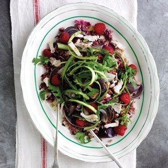 Boxing Day Turkey & Raspberry Salad - Boxing Day Recipes