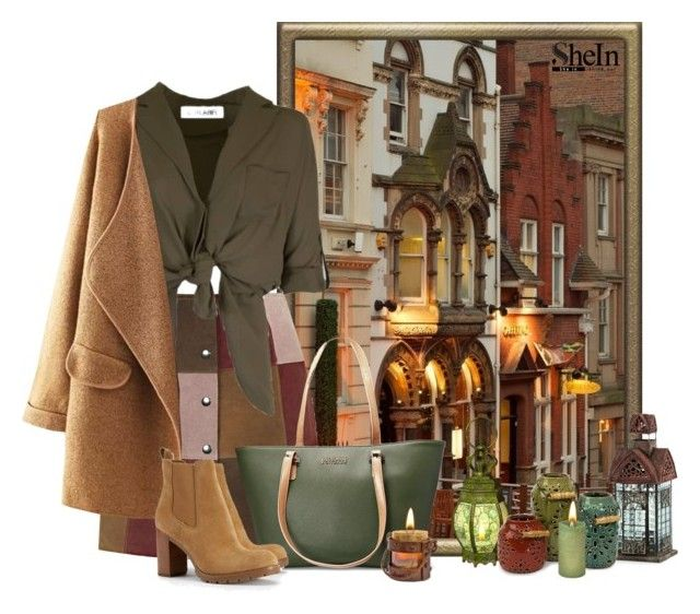 """Nottingham"" by concettodimoda ❤ liked on Polyvore featuring Topshop, Avenue, Tory Burch, Imax Home, Luminara, greatbritain, nottingham and lanterns"
