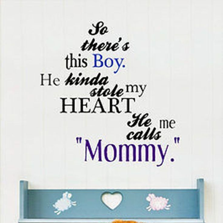 Mommy Quotes: 25+ Best Mother Son Quotes On Pinterest