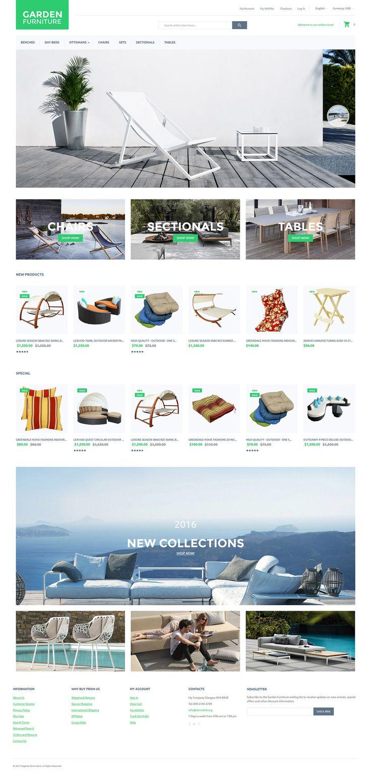 Exterior Design Magento Theme
