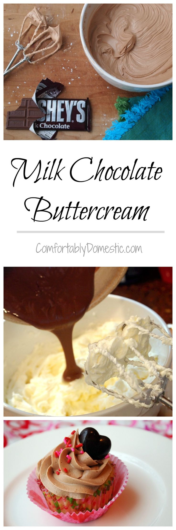 Who Needs Cake When You Have a Spoon? Real Milk Chocolate Buttercream Frosting. - Comfortably Domestic
