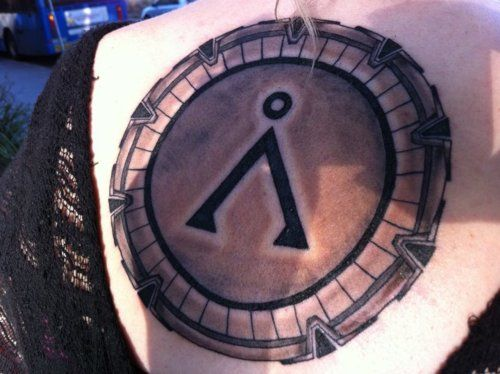 stargate tattoo images galleries with a bite. Black Bedroom Furniture Sets. Home Design Ideas