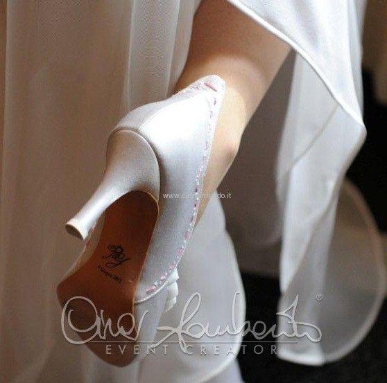 Scarpe per la sposa create su misura