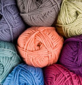 2.  Favorite summer yarn....CotLin from Knit Picks. Cotton/linen blend is so nice to work with, and to wear, when the temps rise.:  Woolen, Summer Color, Summer Yarns, Knits Pick, Dk Yarns, Knits Yarns, Weights Yarns,  Woollen, Crochet Yarns