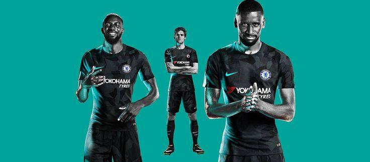 Terceira camisa do Chelsea 2017-2018 Nike
