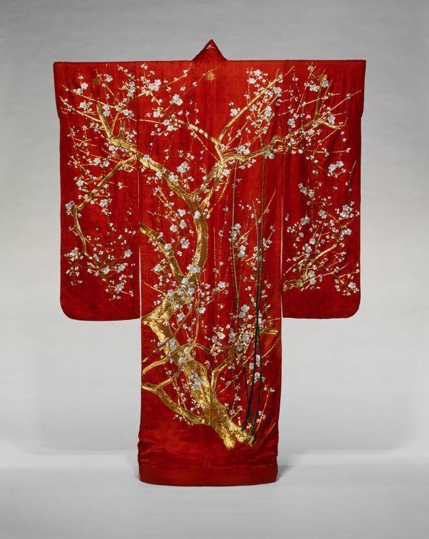 Etude des motifs textiles chinois avec le kimono - Mitsouko au CP