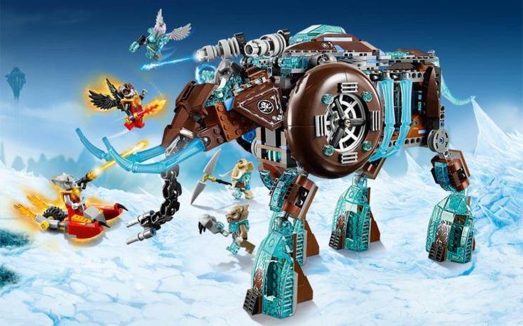 70145 Maula's Ice Mammoth Stomper - Products - Chima LEGO.com - Jack has this!