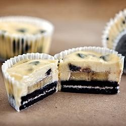 #160233 - Cheesecake Oreo Muffins: Cheesecake Bites, Oreo Cheesecake, Cookies And Cream, Recipes, Oreo Treats, Cheesecake Oreo, Oreo Muffins, Cheesecake Muffins, Cheesecake Cupcakes