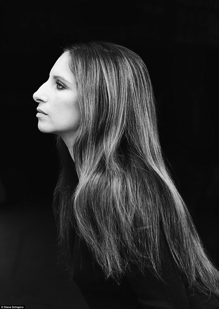 Classic: Taken in 1969, this is one of many portraits Steve Schapiro would go on to take of Barbara Streisand