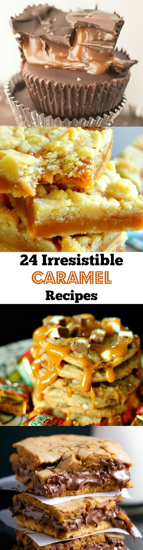 Seriously irresistible ooey, gooey caramel recipes you just HAVE to try!!  Thanksgiving Desserts   Christmas Desserts
