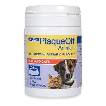 PlaqueOff is the easiest, most effective and affordable way to keep your cat or dog's teeth clean.