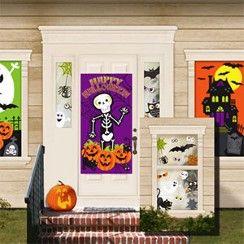 halloween decorations kit asda party