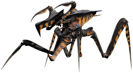 "starship troopers --one of the few good things about the movie as opposed to the book They got the ""bugs"" right."