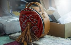 Sunrise round bag