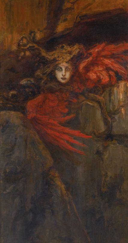 KOTARBINSKI, Vasily Alexandrovich (1849-1921)  Medusa 1903