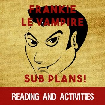 Frankie Le Vampire - French reading/sub activities - a short story for beginning/intermediate French students with activities. Perfect for a sub day!