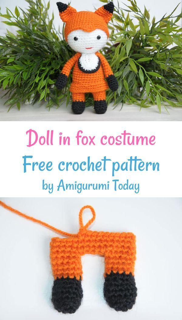 Lady fox amigurumi pattern - Amigurumi Today - Amigurumi Crochet ...   1051x600