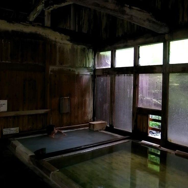 Shirahone Onsen, Nagano, Japan 白骨温泉 泡の湯 長野