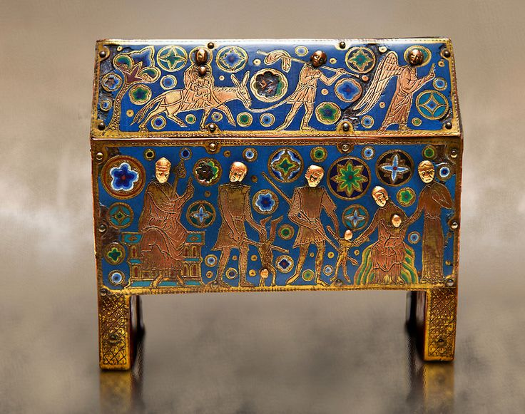 Pictures of Limoges Enamel, MNAC Museum , Barcelona, Spain - Stock Photos | Photos Gallery